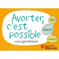 Avorter, c'est possible