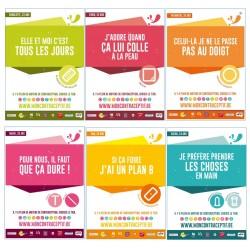 Mon contraceptif - Six slogans
